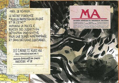 Les Carnets Kurt Hix - Fascicule 28 (eBook)