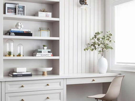 Millwork Moment: Home Offices That Inspire