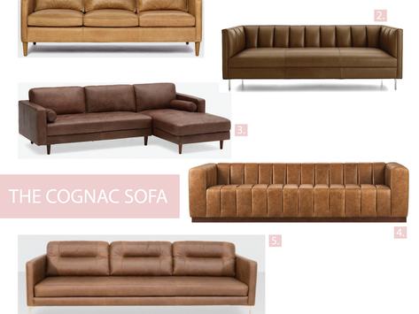 The Cognac Sofa
