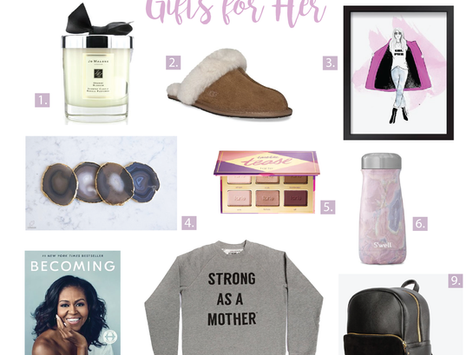 2018 Holiday Gift Guides for Her, Him & The Kiddos!