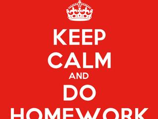 It's homework time!