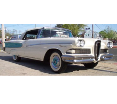 The Wedding Carriage — 1958 Edsel