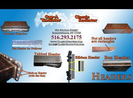 Radiator Construction — Part III — Headers