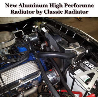 57 Chevy Aluminum Radiator