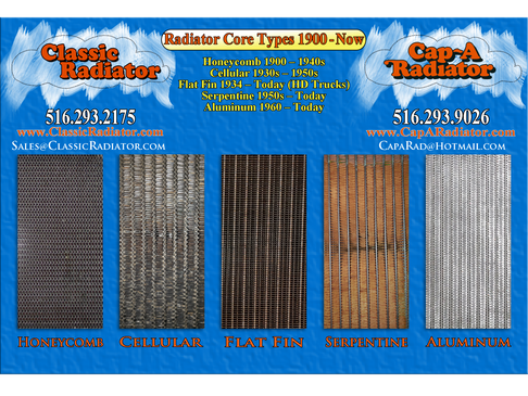 Radiator Construction 1897-2020