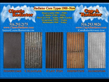 Radiator Construction 1897-2020