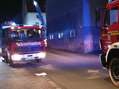 Einsatz F2 - Kaminbrand