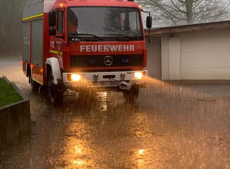 Einsatz H1 - Wasser in Gebäude