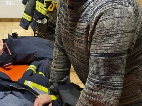Überprüfung der Feuerschutzbekleidung