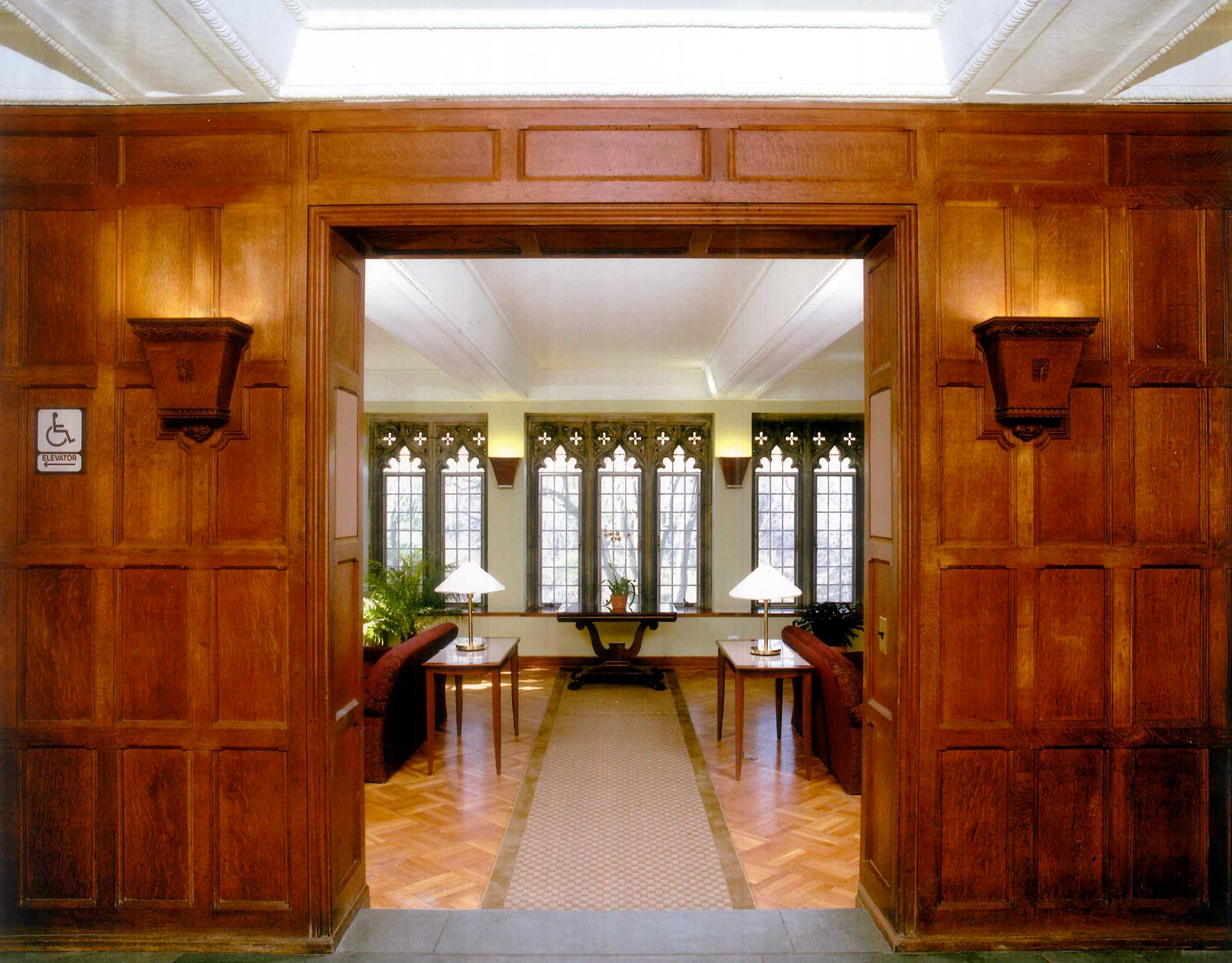 BMC Rhoads Hall - Main Lobby