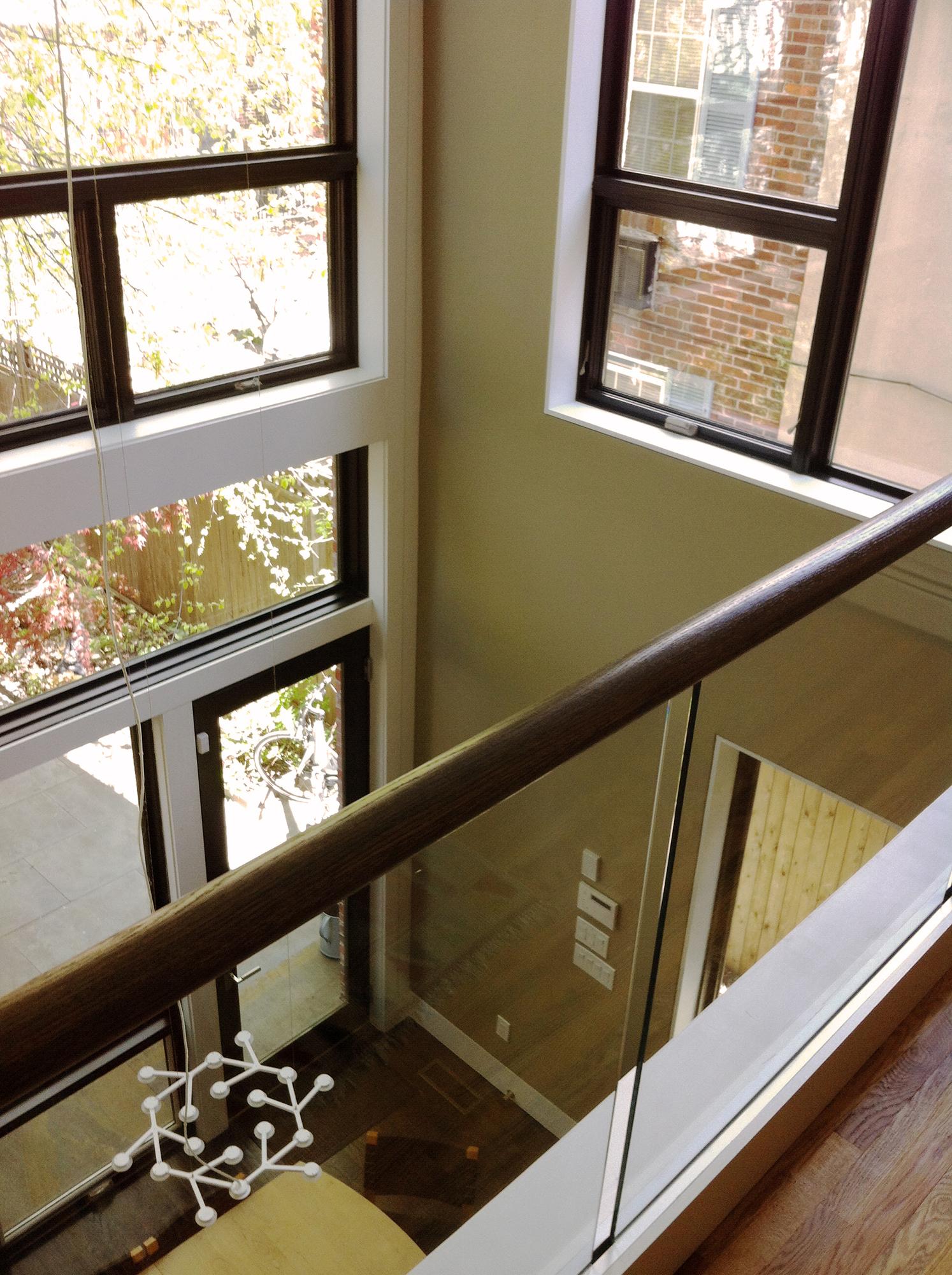 Pine Street - Interior Balcony