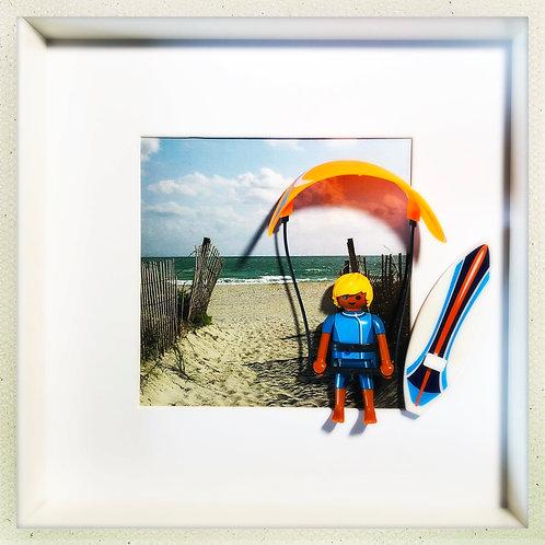 Kite surf à l'Almanare
