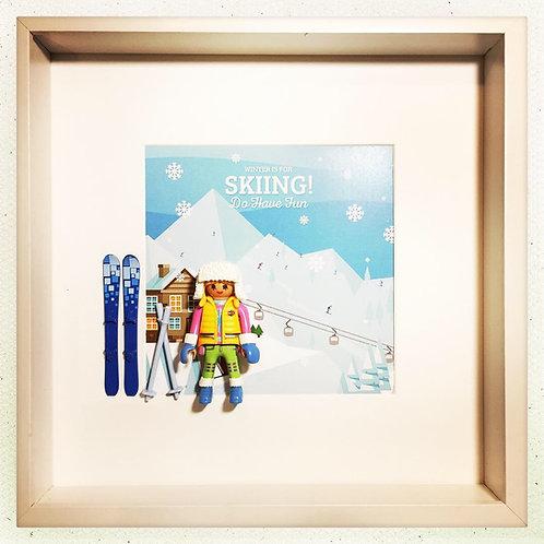Ski Season - Skieuse