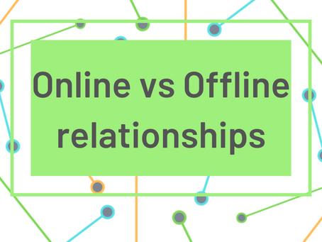 Generational Networking: Online vs Offline relationships