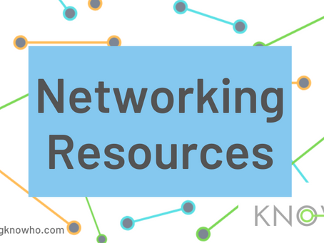 Top Networking Resources!