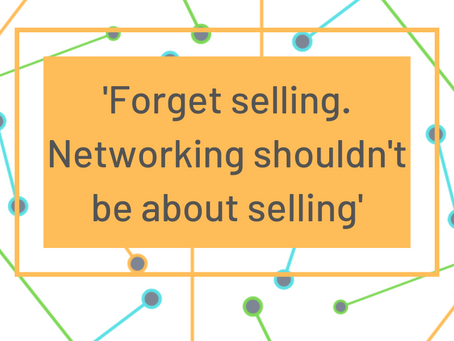 Why Are You Networking?