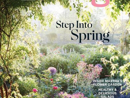 Feature in Martha Stewart Living Magazine