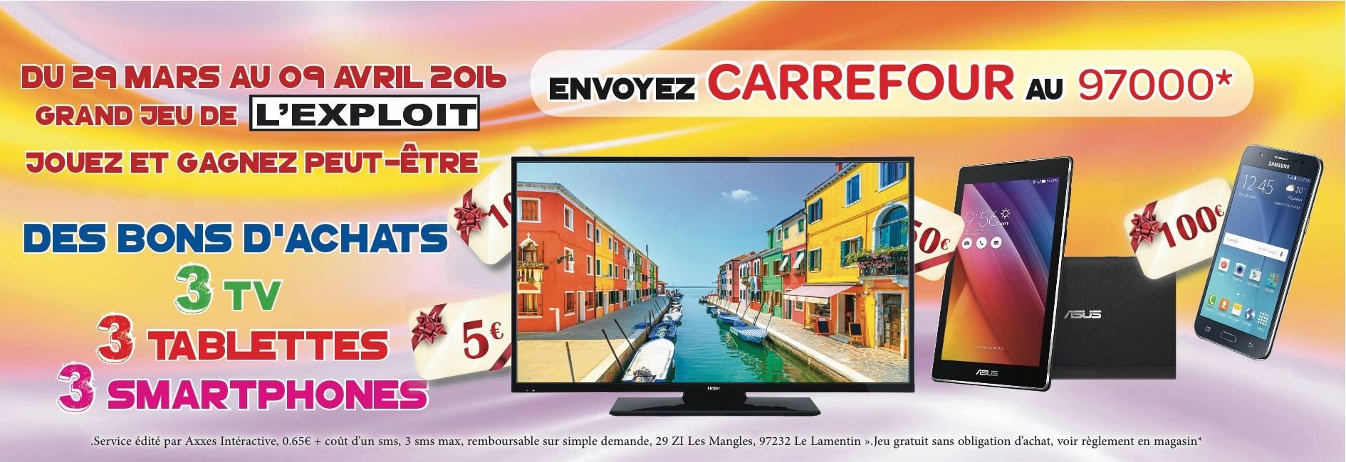 Jeu Carrefour