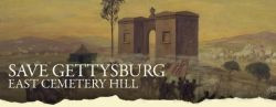 22nd Mass Donation to Save East Cemetery Hill at Gettysburg