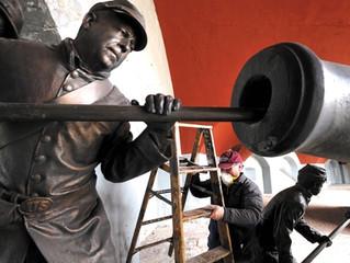 22nd MVI Helps Restore Fort Trumbull