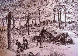 22nd Massachusetts Infantry at Gettysburg