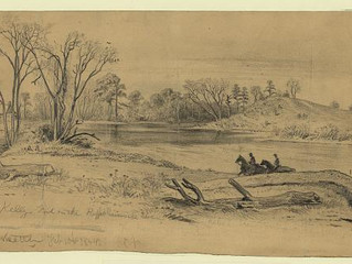 22nd MVI Departs on the Gettysburg Campaign
