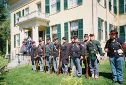 Emily Dickinson Museum Hosts a Living History with the 22nd Massachusetts Volunteer Infantry