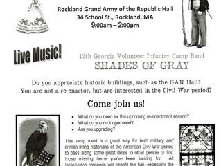 3rd Annual Civil War Swap Meet