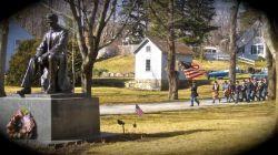 22nd Massachusetts Celebrates Lincoln Day in Hingham