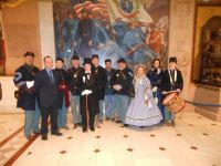 22nd MVI Commemorates the Sesquicentennial at the Statehouse On 9 April 2012, members of the 22nd Ma