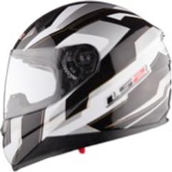 LS2 Black Grey White Helmet.jpg
