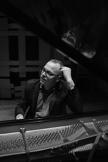Dan Carunchio at his piano