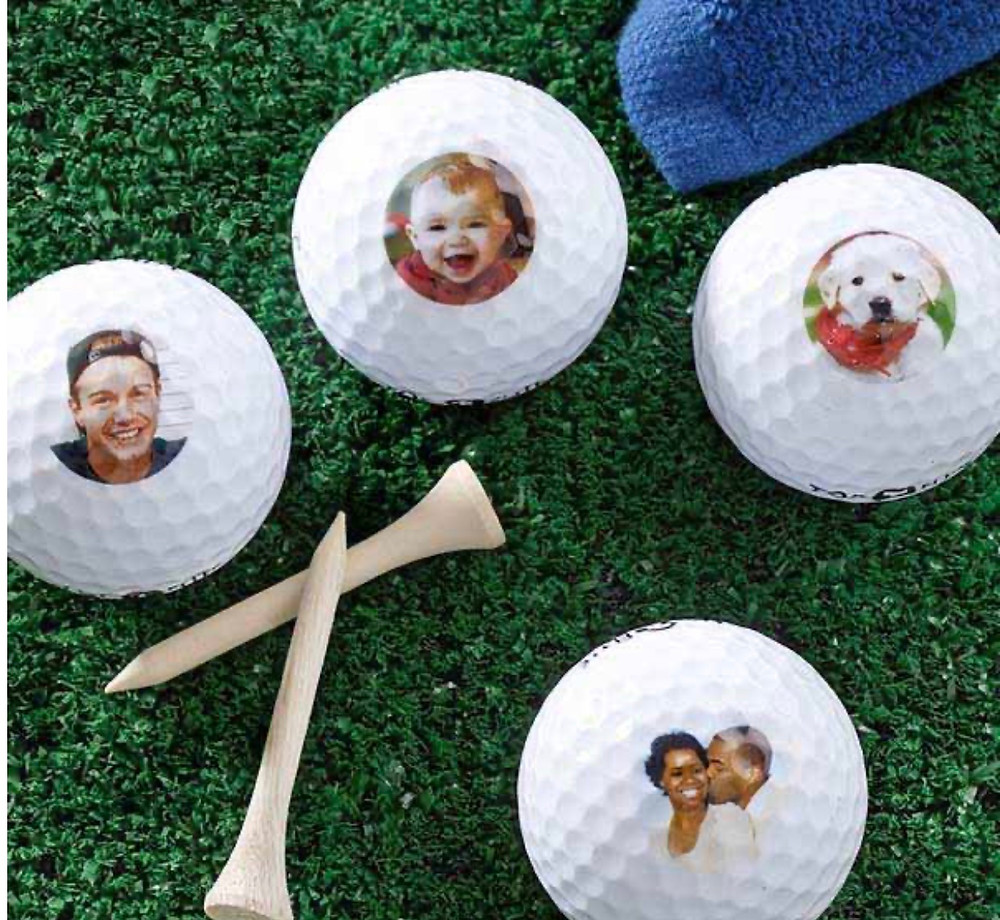 Personalized golf bal