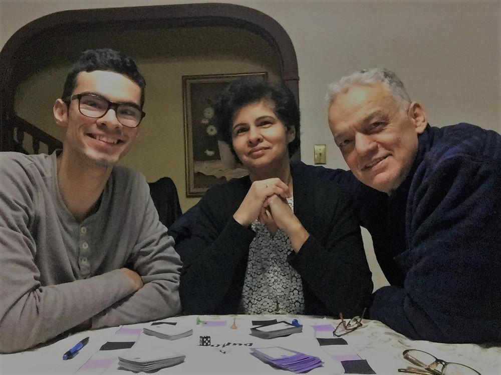 Custom board game for family