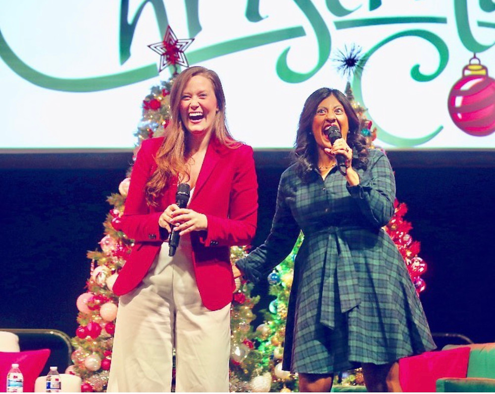 Christmas Con 2021, celebrities, Lacey Chabert, Melissa Joan Hart, Tamera Mowry-Housley, Sister Sister, Clarissa Explains It All, Mean Girls