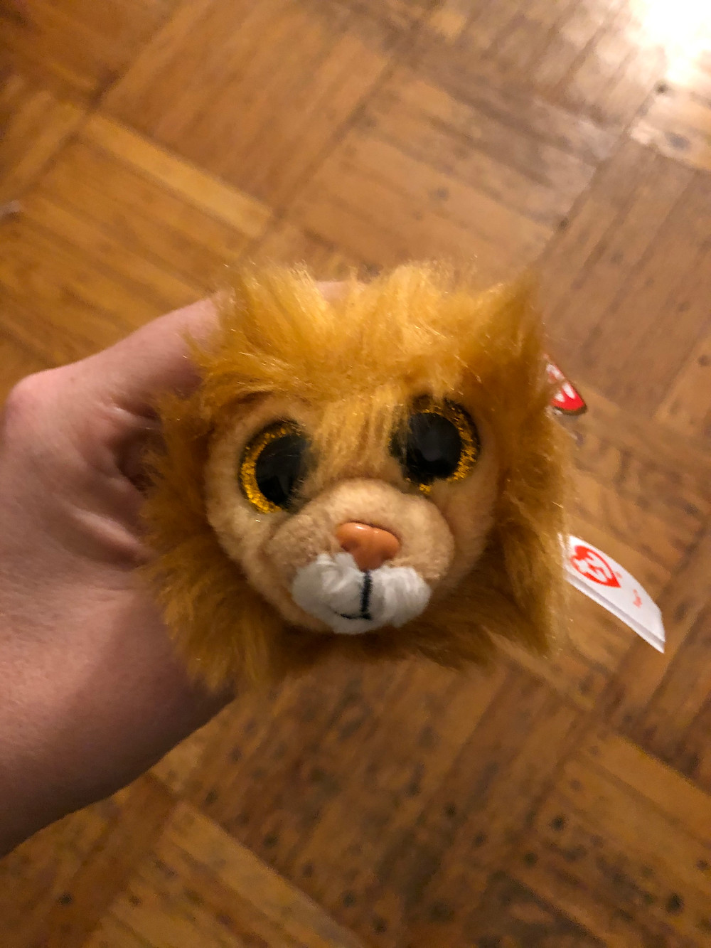Little lion beanie baby