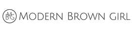 Modern Brown Girl Logo