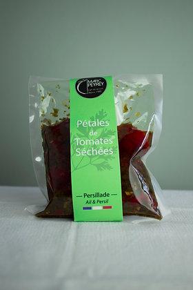Pétales de tomates séchées - knoflook & peterselie 200 g