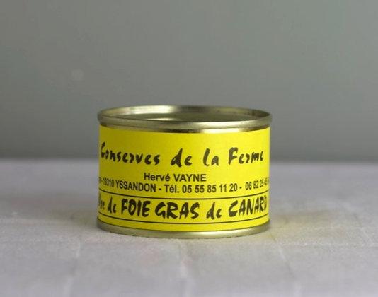 Bloc de foie gras de canard 65 gr
