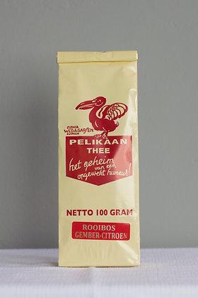 Rooibos gember-citroen, 100 g