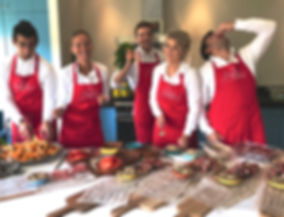 Team catering