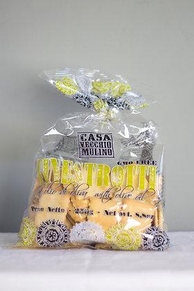 Italiaanse crackers met olijfolie van Casa Vecchio Mulino 250 g