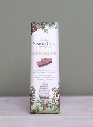 Simón Coll pure chocoladereep 25 g