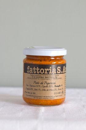 Paté di Peperoni, paté van paprika, 212 ml