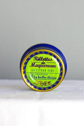 Rillettes de Maquereau au citron vert 60 g