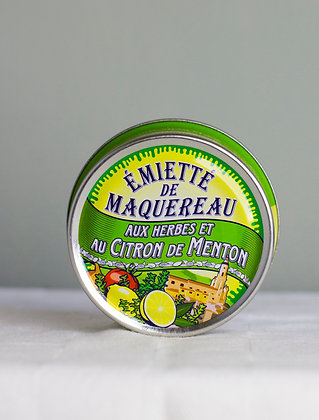 Émietté de maquereau aux herbes et citron de Menton, 80 g