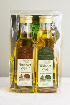 Hazelnoot-  en walnootolie, 2 x 100 ml