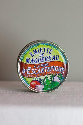 Émietté de maquereau d'Escartefique, 160 g