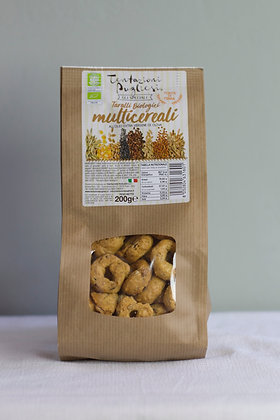 Taralli bio multicereali Pugliesi, 200 g