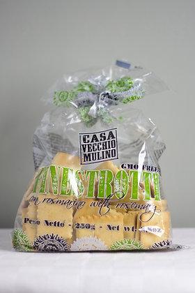 Italiaanse crackers met rozemarijn van Casa Vecchio Mulino 250 g